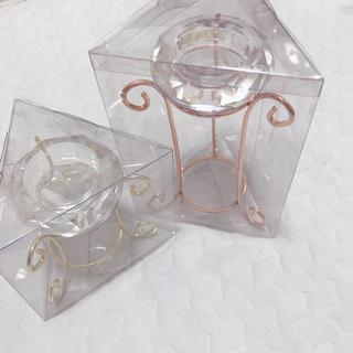 フランフラン(Francfranc)のFrancfranc ダイヤキャンドルホルダー 新品(キャンドル)
