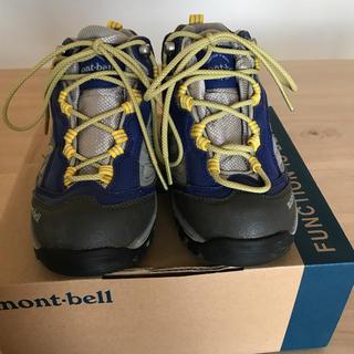 モンベル(mont bell)のmont-bell 子供用 トレッキングシューズ 20cm(アウトドアシューズ)