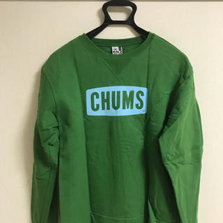 CHUMS - CHUMS スウェットCHUMSロゴ グリーン