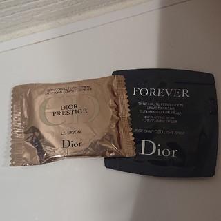 ディオール(Dior)のDior プレステージサヴォンとファンデ サンプル(洗顔料)