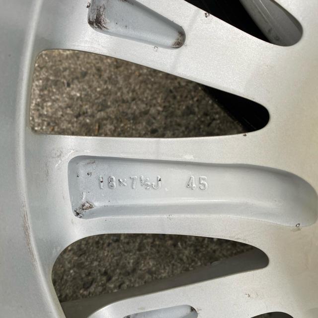 トヨタ(トヨタ)のトヨタ 純正 18インチ 自動車/バイクの自動車(ホイール)の商品写真