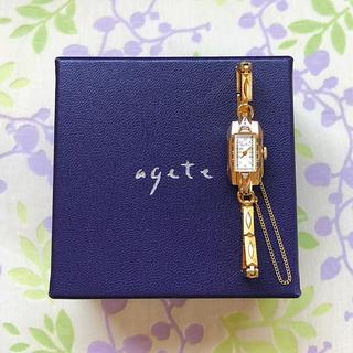 アガット(agete)のagete    ㊳ 腕時計・稼動品✨(腕時計)