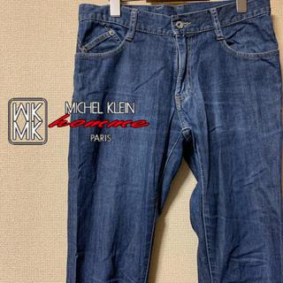 エムケーミッシェルクランオム(MK MICHEL KLEIN homme)の【極美品】MK MICHEL KLEIN homme スリムストレッチデニム(デニム/ジーンズ)