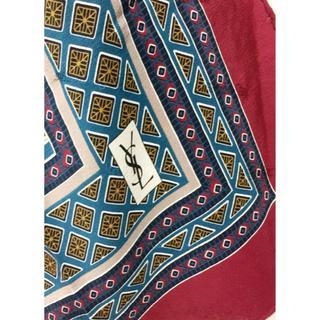 イヴサンローランボーテ(Yves Saint Laurent Beaute)のイヴサンローラン シルク スカーフ 18613528(バンダナ/スカーフ)