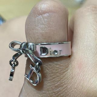 ディオール(Dior)のDior リング リボンモチーフ 不定期タイムセール中(リング(指輪))