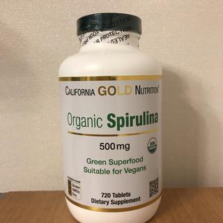 オーガニック スピルリナ 720錠(ダイエット食品)
