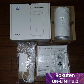 【新品】楽天 UNLIMIT 設定 Simフリー Wi-Fiルーター L01S(その他)