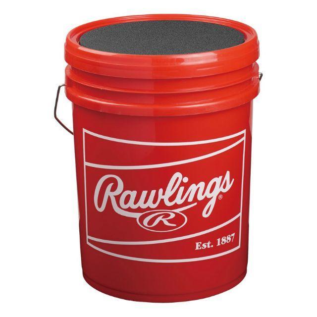 Rawlings(ローリングス)のローリングス ボールバック レッド ボールケース トスイス スポーツ/アウトドアの野球(その他)の商品写真