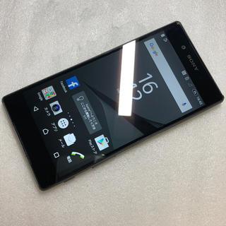エクスペリア(Xperia)のSONY SoftBank Xperia Z5 501SO ブラック aki80(スマートフォン本体)