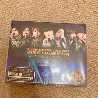 キスマイフットツー(Kis-My-Ft2)のキスマイ MUSIC COLOSSEUM Blu-ray【フォトカード抜けあり】(アイドル)