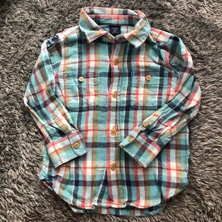 ベビーギャップ(babyGAP)のbabyGAPチェックシャツ(ブラウス)