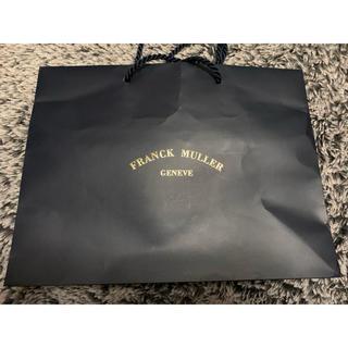フランクミュラー(FRANCK MULLER)の即購入OK!!送料350円込み!!フランクミューラー ショップ袋(ショップ袋)