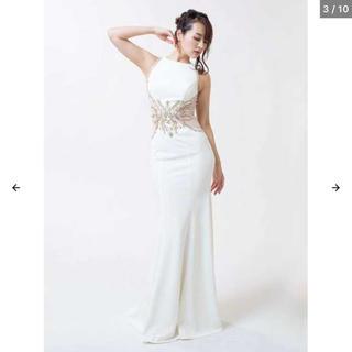 デイジーストア(dazzy store)のDazzy ロングドレス ホワイト(ロングドレス)