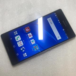 エクスペリア(Xperia)の ドコモ Xperia Z3 SO-01G ブルー ジャンク aki82(スマートフォン本体)