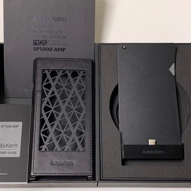 iriver(アイリバー)のAK-SP1000AMP ONYXBLACK 美品 スマホ/家電/カメラのオーディオ機器(アンプ)の商品写真