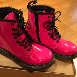 ドクターマーチン(Dr.Martens)のドクターマーチン 8ホール ブーツ(キッズ) 新品 美品(ブーツ)