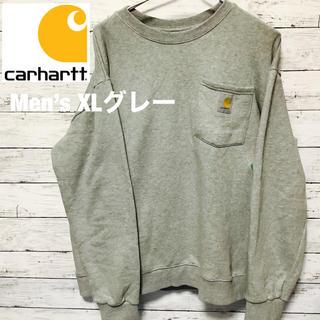 カーハート(carhartt)のcarhartt 定番スエット グレー XL(スウェット)