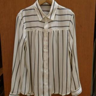 ロペピクニック(Rope' Picnic)のバイカラーダブルストライプシャツ(シャツ/ブラウス(長袖/七分))