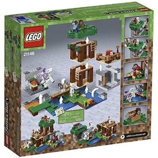 レゴ(Lego)のLEGO 21146 マインクラフト  スケルトンアタック(その他)