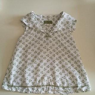 エスプリ(Esprit)のSサイズ 110〜120cm相当 セーラー襟カットソー(Tシャツ/カットソー)