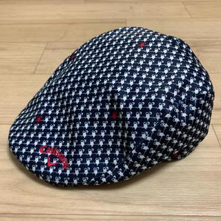 キャロウェイ(Callaway)のキャロウェイ Callaway ハンチング 帽子 ゴルフウェア(ハンチング/ベレー帽)