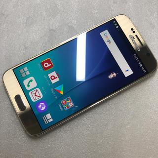 ギャラクシー(Galaxy)のドコモ SAMSUNG GALAXY S6 SC-05G ジャンク aki84(スマートフォン本体)