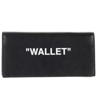 オフホワイト(OFF-WHITE)のOFF-WHITE QUOTE YEN WALLET(長財布)