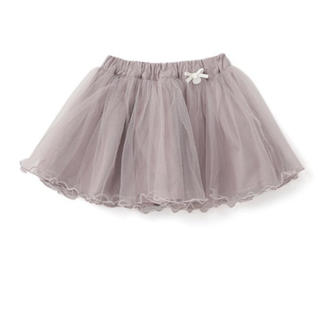 petit main - [値下げ] petitmain  チュール重ねスカート