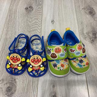 バンダイ(BANDAI)のアンパンマン サンダル 靴 12.5(サンダル)