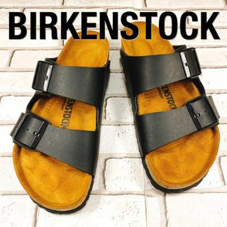 BIRKENSTOCK - 【美品】BIRKENSTOCK ビルケンシュトック アリゾナ 黒 ブラック
