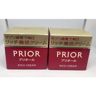 プリオール(PRIOR)のプリオール PRIOR リッチ美活クリーム 40g 2個セット(フェイスクリーム)