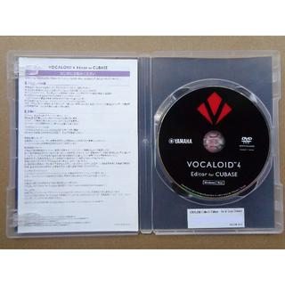 ヤマハ(ヤマハ)のVOCALOID4 Editor for Cubase【アップグレード可】(DAWソフトウェア)