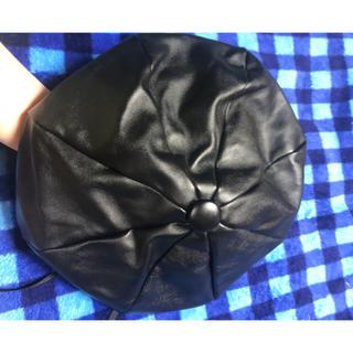 シールームリン(SeaRoomlynn)のsearoomlynn レザー帽子(ハンチング/ベレー帽)