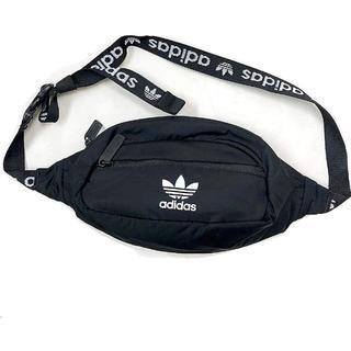 アディダス(adidas)のadidas WAIST PACK(バッグ・ウエストバッグ) ブラック・黒(ウエストポーチ)