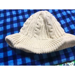 メリージェニー(merry jenny)のmerry jenny ニット帽(ニット帽/ビーニー)