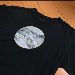 クリックシルバーブラックコットンT(Tシャツ(半袖/袖なし))