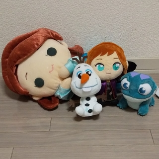 アナトユキノジョオウ(アナと雪の女王)のアナと雪の女王2  ぬいぐるみセット(ぬいぐるみ)