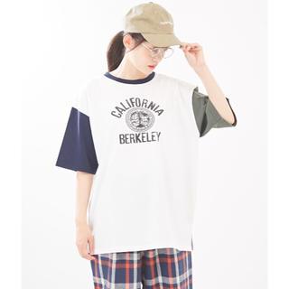 キューブシュガー(CUBE SUGAR)のCube sugar    OE天竺 クルーネック Tシャツ 新品(Tシャツ(半袖/袖なし))