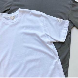 ドゥロワー(Drawer)の新品 BLAMINK ロゴ刺繍Tシャツ  ブラミンク(Tシャツ(半袖/袖なし))