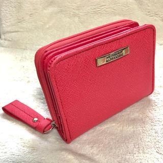 アルファキュービック(ALPHA CUBIC)の新品★ALPHA CUBIC 大容量 二つ折り 財布 ピンク(財布)