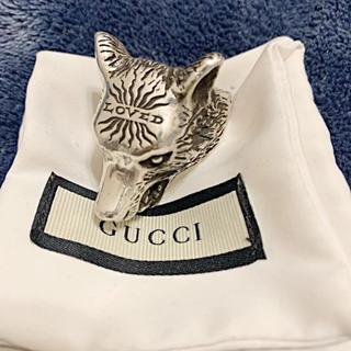 グッチ(Gucci)の美品!GUCCI リング ウルフヘッド ラージサイズ(リング(指輪))