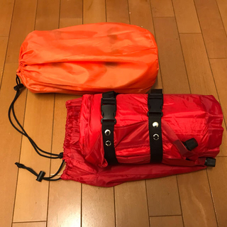コールマン(Coleman)のキャンプ エアマット 2個セット DABADA 自動膨張 コンパクト 車中泊(寝袋/寝具)