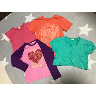 アナップキッズ(ANAP Kids)の120cm  Tシャツ等 4点セット ANAP e.a.B ムージョンジョン(Tシャツ/カットソー)