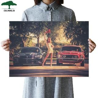 R812 ワイルドスピード ダッジバイパー フォードマスタング ポスター(ポスター)
