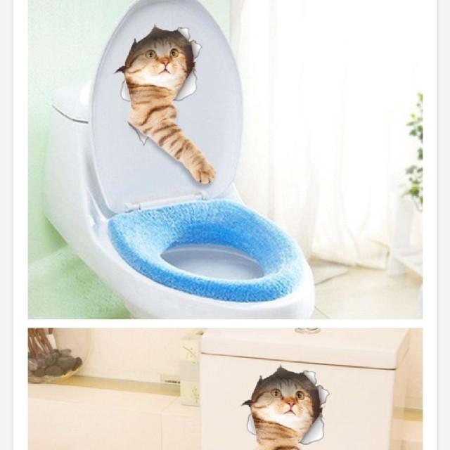 猫用品 ステッカーシール インテリア/住まい/日用品の文房具(シール)の商品写真