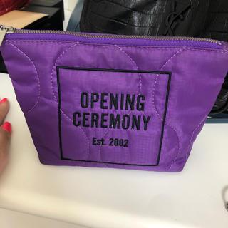 オープニングセレモニー(OPENING CEREMONY)のopening ceremony ポーチ(ポーチ)