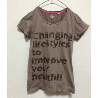 アシックス(asics)のアシックス✳︎asics✳︎Tシャツ✳︎ヨガ、ティラピス、ランニングなどに(Tシャツ(半袖/袖なし))