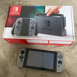 ニンテンドースイッチ(Nintendo Switch)のNintendo Switch ニンテンドースイッチ  グレー 付属品全て有(家庭用ゲーム機本体)