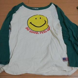 ロデオクラウンズワイドボウル(RODEO CROWNS WIDE BOWL)のRCWB スマイルコラボロンT Mサイズ(Tシャツ/カットソー(七分/長袖))
