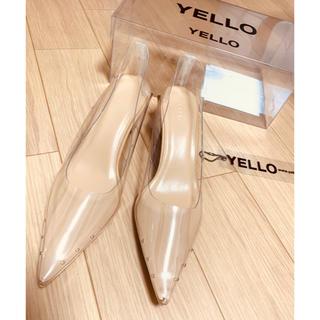 イエローブーツ(Yellow boots)のYELLO SHOSE O2 LOW HEELS Lサイズ 24.5 星あや(ハイヒール/パンプス)